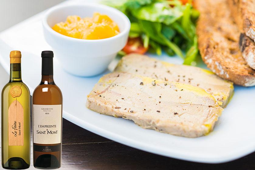 Accords mets et vin foie gras fêtes de fin d'année