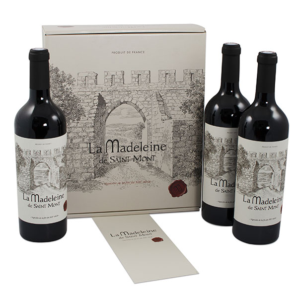 Coffret de vins de Saint Mont AOC - La Madeleine