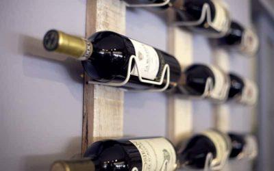 Idée cadeau amateur de vin - Porte bouteille