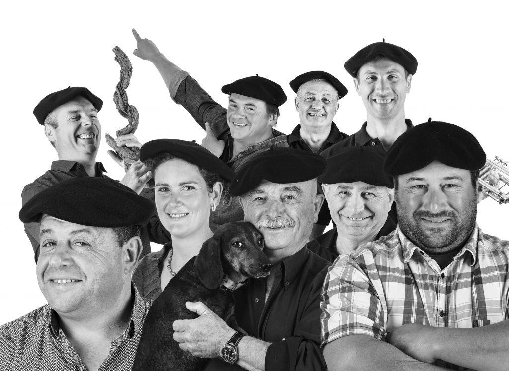 Portrait groupe Gueules de Vigneron
